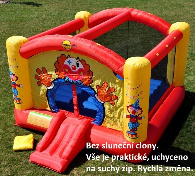 Happy Hop 9014N Big Clown vith slide