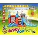 Happy Hop Luxusní skákací hrad 13 v 1 Happy Hop velký skákací hrad