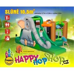 Slůně happy hop 9274 skákací hrad