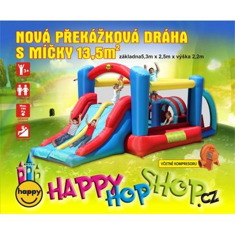 Nová Překážková dráha velká Happy Hop