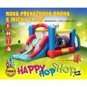 Happy Hop skácí hrad a hrací centrum Nová překážková dráha