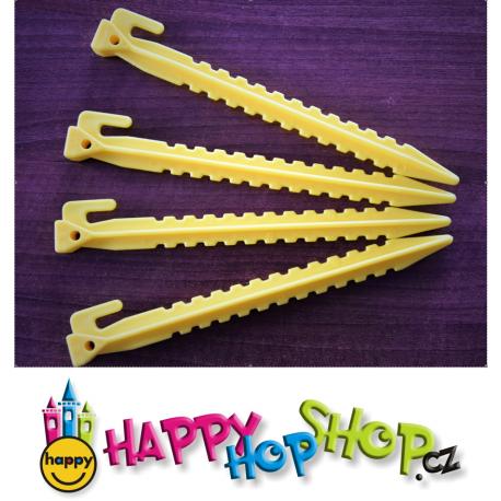 Sada jistících kolíky pro kotvení skákacích hradů Happy Hop