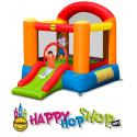 Happy Hop Pestrý Happy Hop skákací hrad se skluzavkou