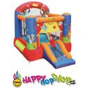 Skákací hrad Divadélko se skluzavkou Happy Hop
