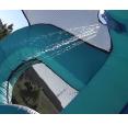 Velká vodní dvoj-skluzavka s bazénkem