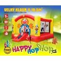 Happy Hop Velký klaun velký skákací nafukovací hrad