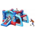 Happy Hop Skákací hrad Football s fotbalovou bránou a skákací plochou