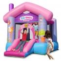 Happy Hop Párty dům pro princezny, skákací hrad se skluzavkou