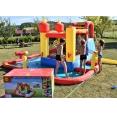 Happy Hop Funland vodní zábavný aqua s bazénem, skluzavkou a míčky, Happy Hop 9016