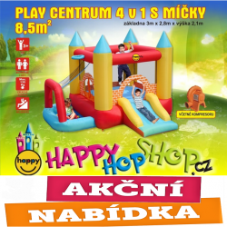 Play centrum 4 v 1 skákací hrad Happy Hop