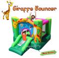 Skákací hrad Veselá žirafa Happy Hop 9403, skákací hrad 9208