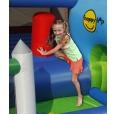 Happy Hop Velký dům 9 v 1 se skluzavkou, velkou skákací plochou a míčky na hraní, happy hop 9515