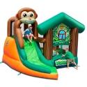 Happy Hop Opičí domek, skákací trampolína se skluzavkou opičí džungle