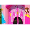 Pro princezny Happy Hop 9201P skákací hrad se skluzavkou