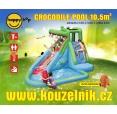 Crocodile Pool vodní skluzavka s bazénkem happy hop 9240