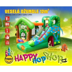 Happy Hop Veselá džungle  Žirafa, Jungle fun
