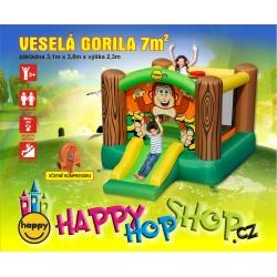 Veselá gorila happy hop 9201G