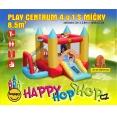 Play centrum 4 v 1 skákací hrad Happy Hop 9114