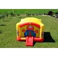 Happy Hop super skákací hrad se sluneční clonou a skluzavkou