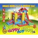 Happy Hop Hrací dům 7 v 1, Play centrum 7 v 1 Happy Hop