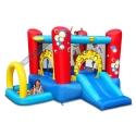 Skákací hrad Multifunkční hrací centrum 4 v 1 Bublinky