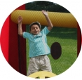 Happy Hop vodní zábavný aqua park 17,5m2 Happy Hop 9047N