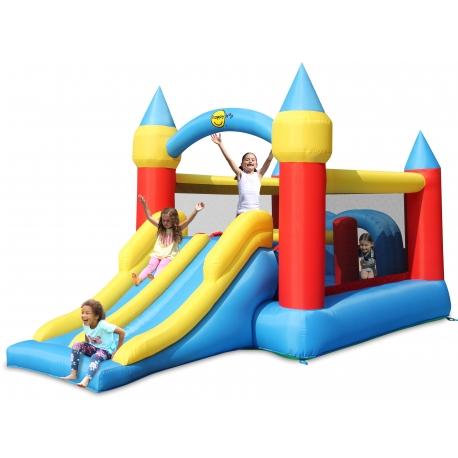 ACTIVITY skákací a prolézací hrad, zábavné centrum s dvojitou skluzavkou Happy Hop