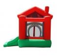 Skákací hrad - Veselý dům se skluzavkou