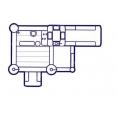 Multifunkční hrací centrum Rytířský hrad 13 v 1 Happy Hop