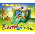 Happy Hop CRAZY nafukovací skákací hrad 9208