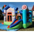 Veselý obchůdek s míčky, skákací hrad Happy Hop 9415