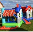 Skákací hrad - Veselý obchůdek s míčky a hrací plochou