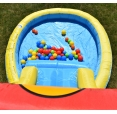 Skákací hrad s bazénkem a skluzavkou Happy Hop