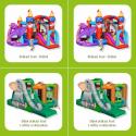 Pexeso: Skákací hrady, skluzavky a nafukovací zábavná centra značky Happy Hop