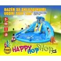 Happy Hop Bazén se skluzavkami - Vodní svět, skákací hrady