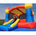 Happy Hop Velký skákací hrad XXL se sluneční clonou Happy Hop 9217N