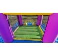 Happy Hop Skákací hrad barevné bublinky se skluzavkou 9201B