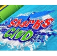 Sharks Club vodní skluzavka s bazénkem, Happy Hop 9417N