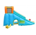 Vodní skluzavka s vodním dělem Happy Hop 9117N Water slide with pool and cannon