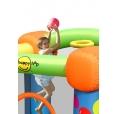 Happy Hop 9070 Skákací hrad Party barevné balónky