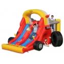 Happy Hop Skluzavka velká Super formule 1, skvělá nafukovací skluzavka v auto designu