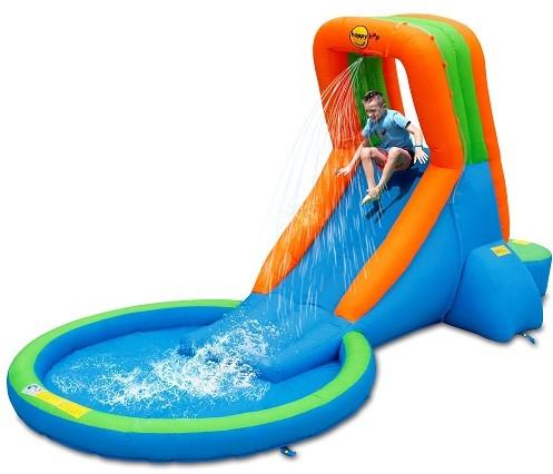 Bazén s velkou vodní skluzavkou Happy Hop