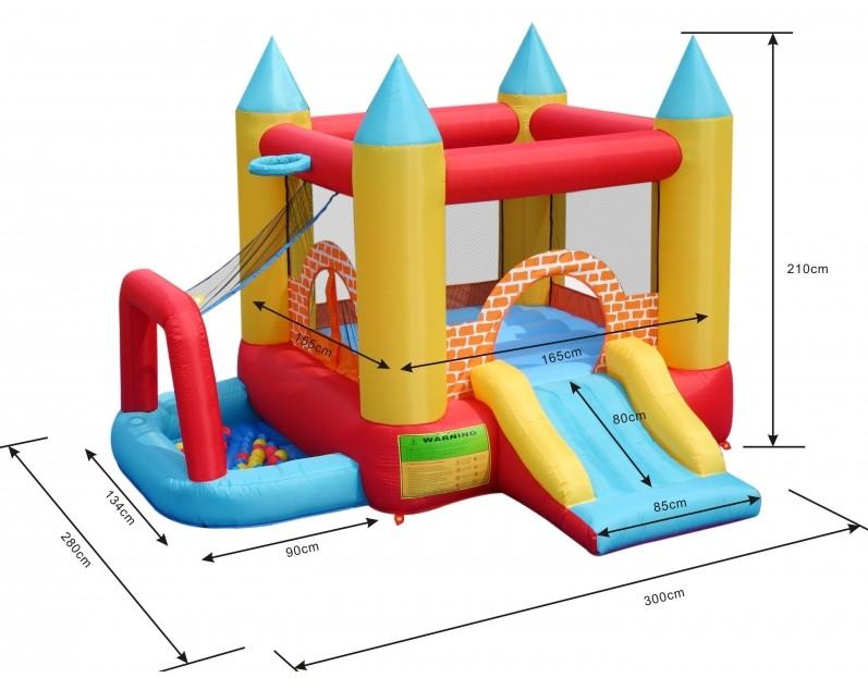 Happy Hop 9114 Play centrum 4 v 1