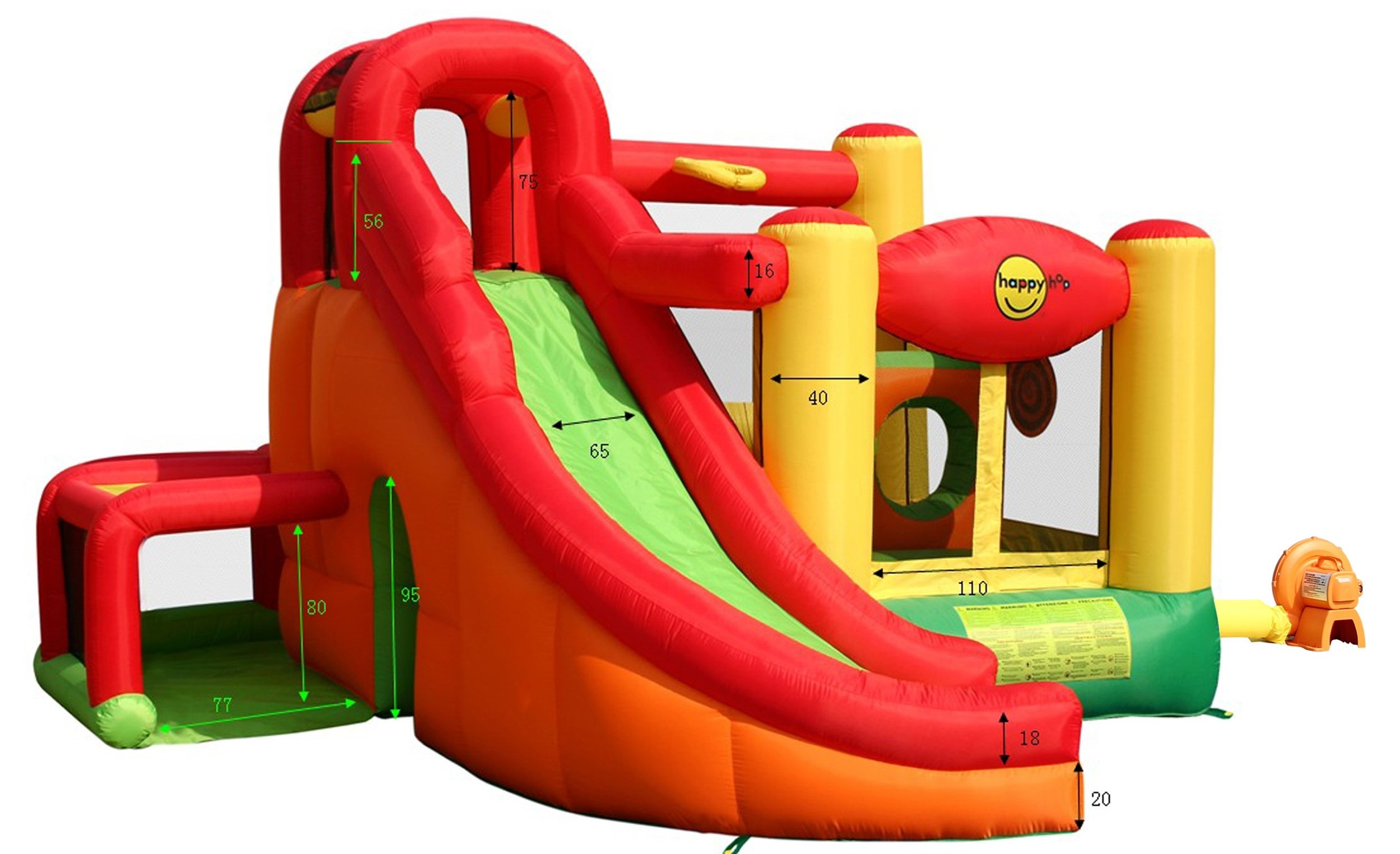 Happy hop rozmery 9206, playcentrum happy hop