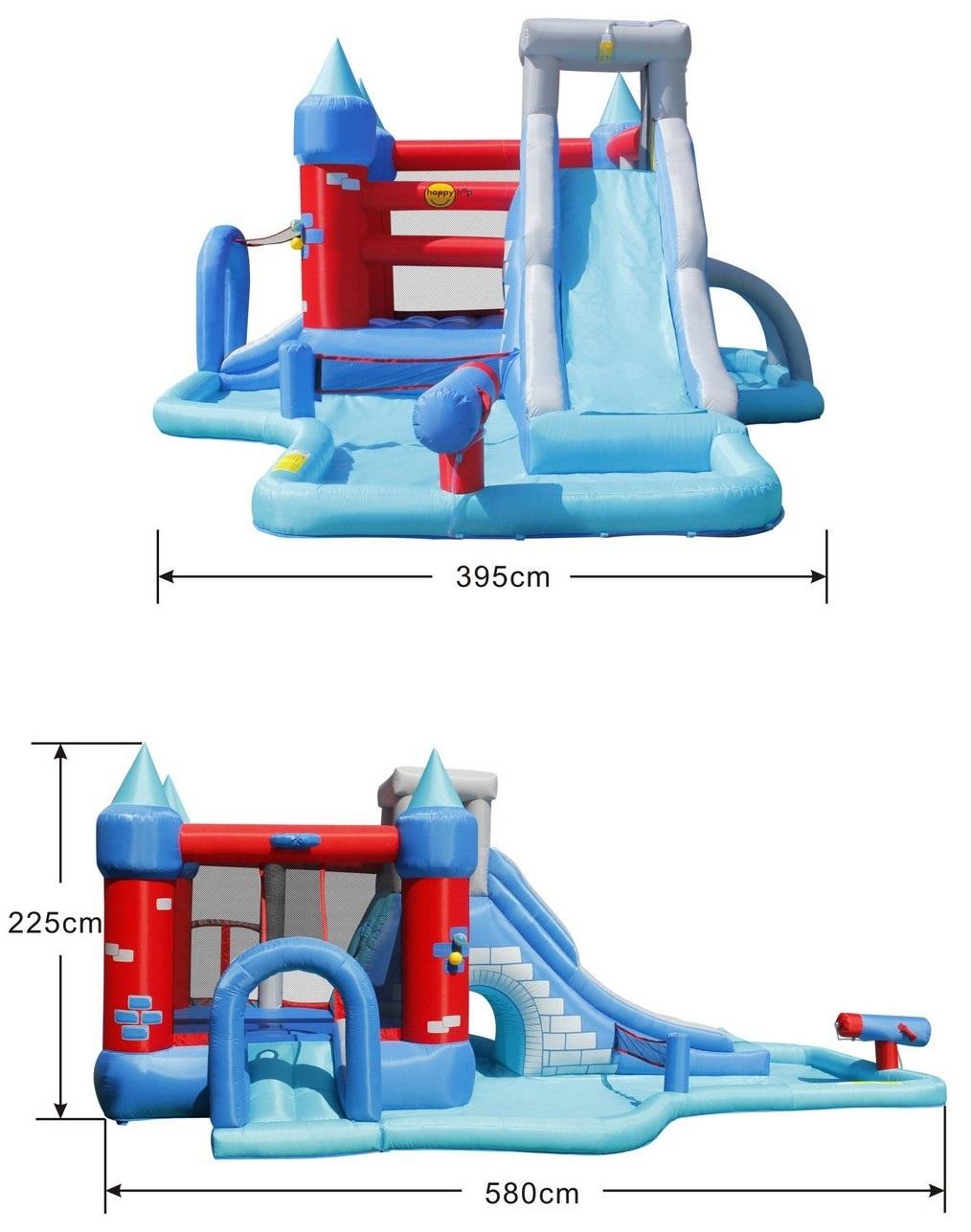 Happy hop 9261 - water slide bounce castle