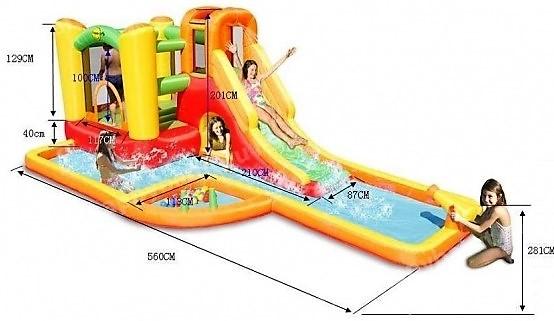 Happy Hop 9281 water park play center, Vodní aqua park Play centrum s míčky a bazénem