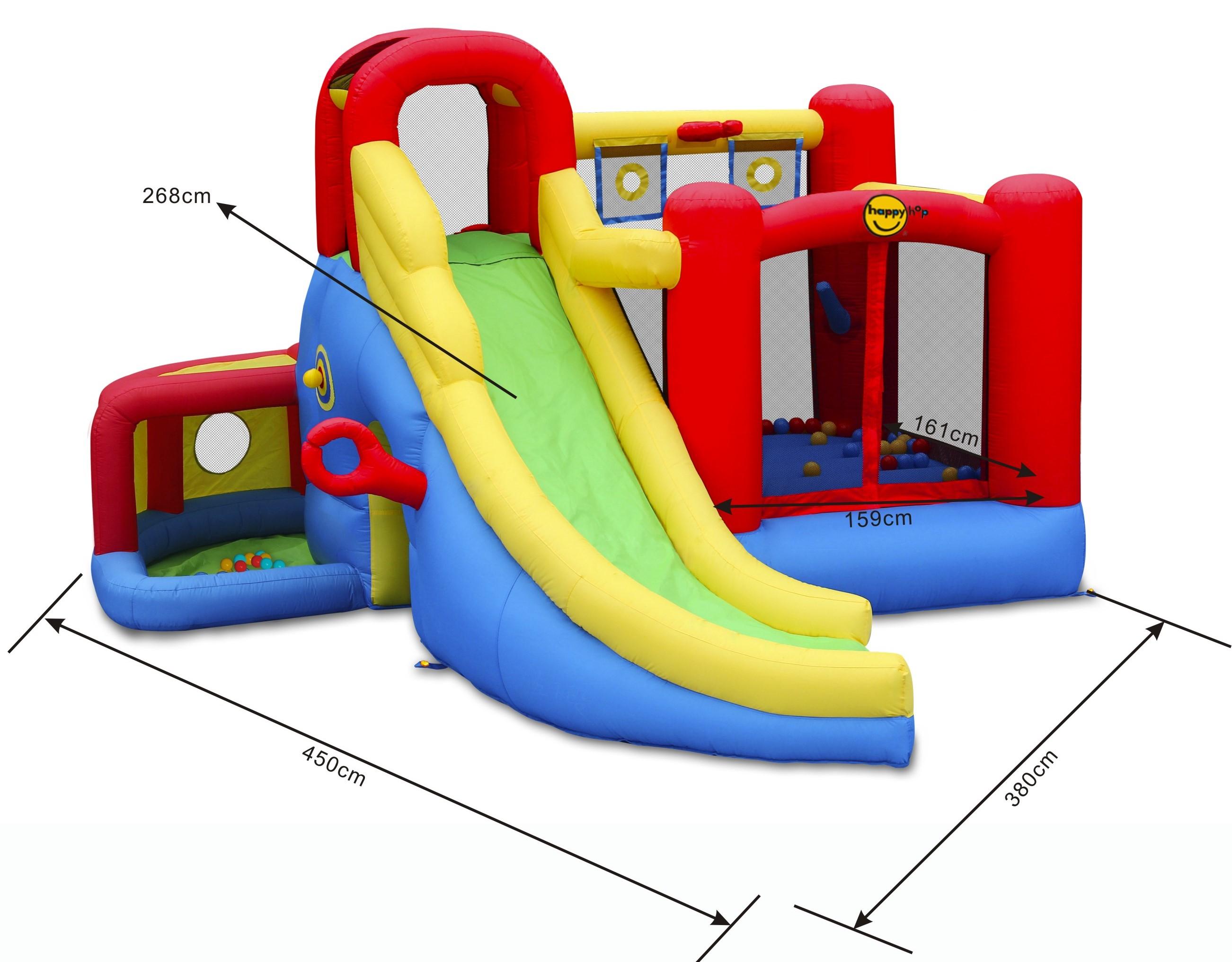 Happy Hop Nové Play centrum 11 v 1. multifunkční hrací centrum