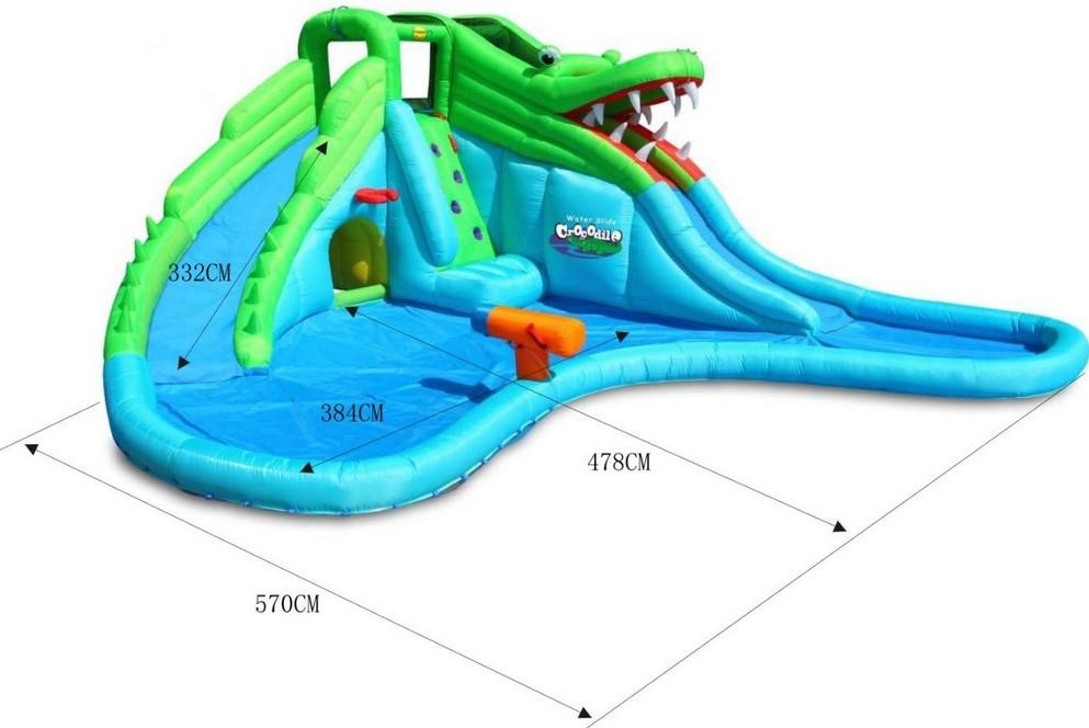 Happy Hop 9517 Crocodile