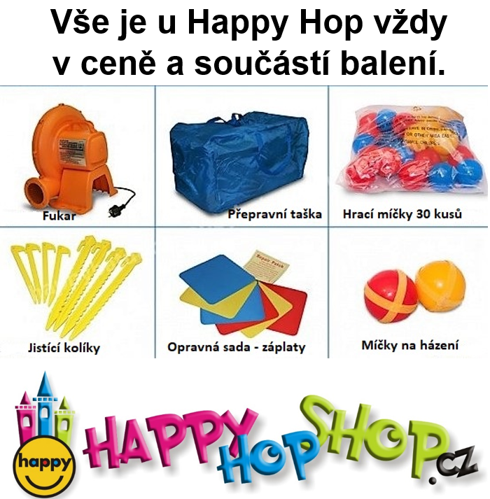 Happy Hop 9021, 13 in 1 bouncy castle